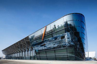 Neue Messehalle 3A, NuernbergMesse waehrend der Spielwarenmesse 2014
